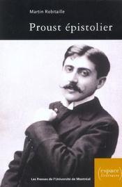Proust épistolier - Intérieur - Format classique