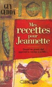 Recettes Pour Jeannette - Intérieur - Format classique