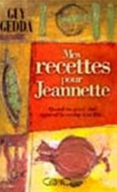 Recettes Pour Jeannette - Couverture - Format classique