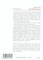 La Rafle Des Eaux T.2 ; Green City - 4ème de couverture - Format classique