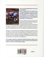 Les fondamentaux du cyclisme t.2 ; programmer et gérer son entraînement - 4ème de couverture - Format classique