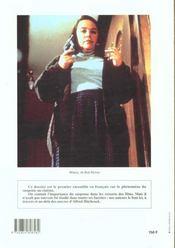 CINEMACTION T.71 ; le suspense au cinéma - 4ème de couverture - Format classique
