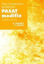 Test d'attention soutenue : PASAT modifié - Couverture - Format classique