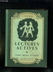 LECTURES ACTIVES COMPTE RENDU DE LECTURE. COURS MOYEN 2em ANNEE. - Couverture - Format classique