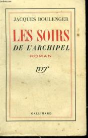 Les Soirs De L'Archipel. - Couverture - Format classique