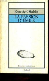 La Passion D'Emile - Couverture - Format classique
