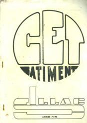 College D'Enseignement Technique Du Bâtiment, Angouleme. Portes Ouvertes Du 25 Mars. Trimestriel N°2 Annee 1971-1972. - Couverture - Format classique