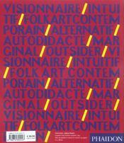 L'art brut ; l'art outsider et au-delà - 4ème de couverture - Format classique