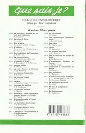 France au moyen age (la) - 4ème de couverture - Format classique