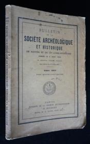 Bulletin de la Société Archéologique et Historique de Nantes et de la Loire-Inférieure (1952) - Couverture - Format classique