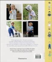 Intemporels pour bebes t. 2 ; modèles et patrons de 0 à 3 ans - 4ème de couverture - Format classique