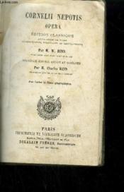 Cornelii Nepotis - Opera - Edition Classique Avec Cartes Et Plans Geographiques - Couverture - Format classique