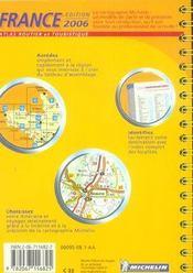 France (édition 2006) - 4ème de couverture - Format classique