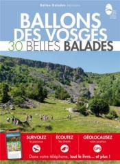 BALADES NATURE ; ballons des Vosges : 30 belles balades - Couverture - Format classique
