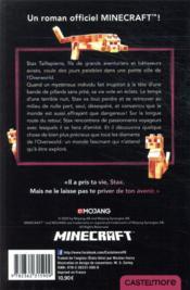 Minecraft ; le roman officel T.5 ; le voyage - 4ème de couverture - Format classique