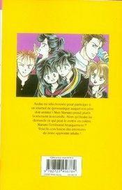 Contes d'adolescence t.3 - 4ème de couverture - Format classique