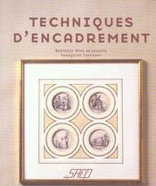 Techniques d'encadrement - Intérieur - Format classique