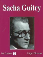 Sacha Guitry - Couverture - Format classique