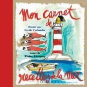 Mon carnet de recettes de la mer - Couverture - Format classique