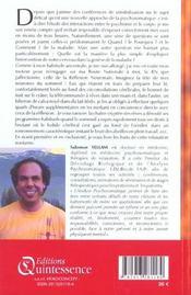 Enquetes psychosomatiques - 4ème de couverture - Format classique