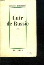 Cuir De Russie. - Couverture - Format classique