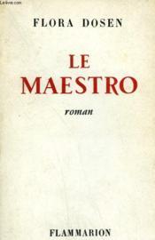 Le Maestro. - Couverture - Format classique