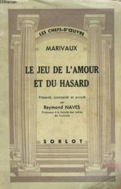 Les Jeux De L'Amour Et Du Hasard - Couverture - Format classique