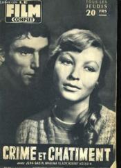 Film Complet N° 611 - Crime Et Chatiment - Couverture - Format classique