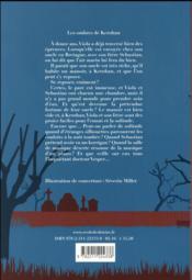 Les ombres de Kerohan - 4ème de couverture - Format classique