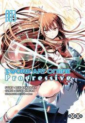Sword Art Online - progressive T.3 - Couverture - Format classique