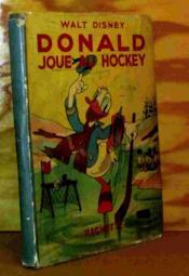 Donald Joue Au Hockey - Couverture - Format classique
