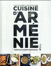 Cuisine d'Arménie - Couverture - Format classique