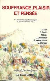 Souffrance,plaisir et pensee - Couverture - Format classique