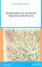 Diasporas et espaces transnationaux - Intérieur - Format classique