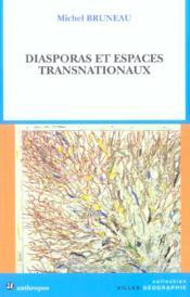 Diasporas et espaces transnationaux - Couverture - Format classique