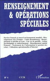 Renseignement Et Operations Speciales N.4 - Intérieur - Format classique