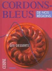 Les desserts - Intérieur - Format classique