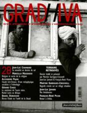 Revue Gradhiva N.28 ; terrains retrouvés - Couverture - Format classique