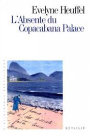 L'Absente Du Copacabana Palace - Couverture - Format classique