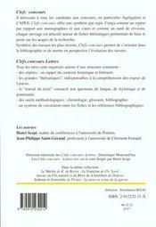 Complaintes De Laforgue - 4ème de couverture - Format classique