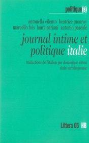 Journal intime et politique ; italie - Intérieur - Format classique