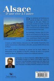 Alsace d'une rive a l'autre - 4ème de couverture - Format classique