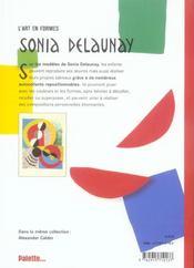 Sonia Delaunay - 4ème de couverture - Format classique