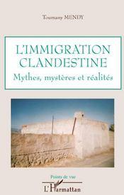 L'immigration clandestine ; mythes, mystères et réalités - Couverture - Format classique