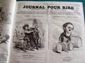 Journal pour rire. 52 numéros (1849/1850). - Couverture - Format classique