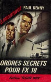Ordres secrets pour FX18 - Couverture - Format classique
