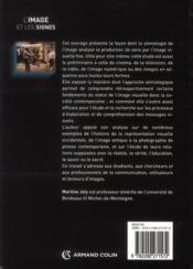 L'image et les signes (2e édition) - 4ème de couverture - Format classique