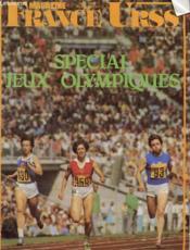 Revue - France Urss Magazine - Juin 1980 - N°129 - Special Jeux Olympiques - Couverture - Format classique