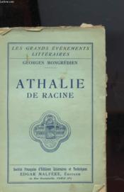Athalie De Racine - Couverture - Format classique