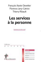 Les services à la personne - Couverture - Format classique